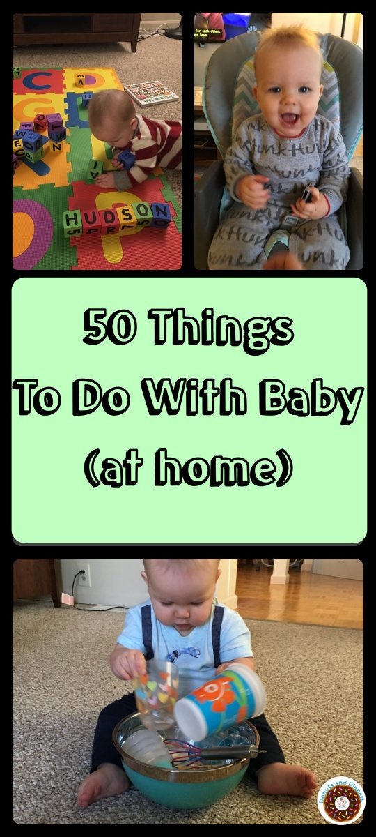 50 Things To Do At Home With Baby (6-12 months)